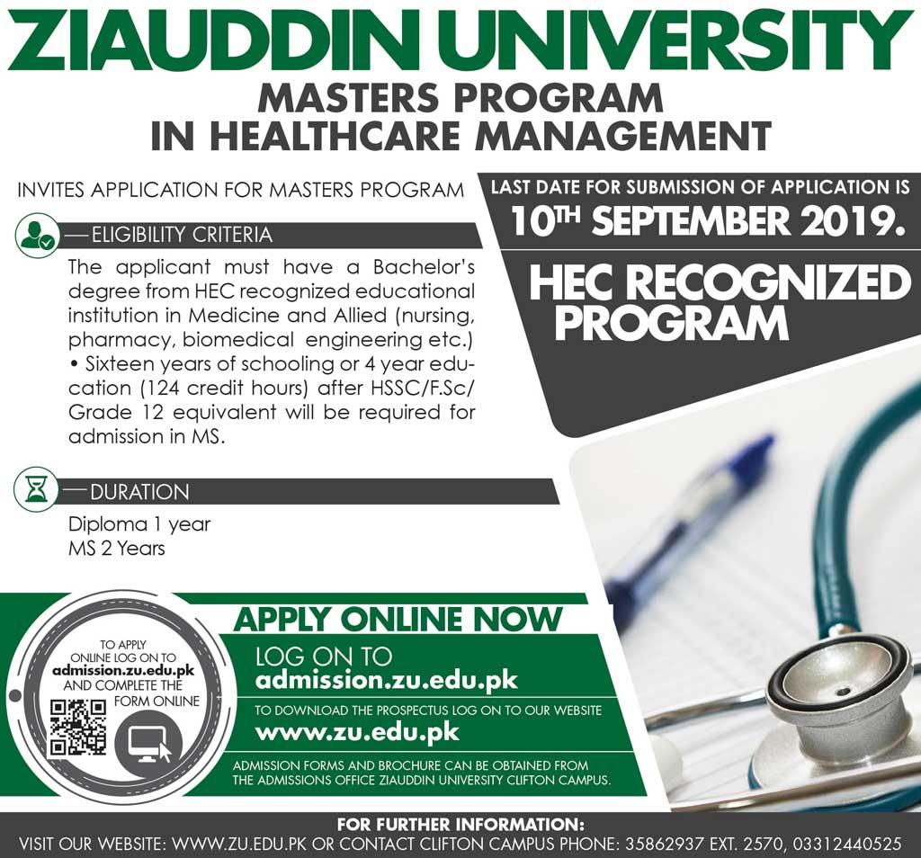 Contact - Ziauddin University