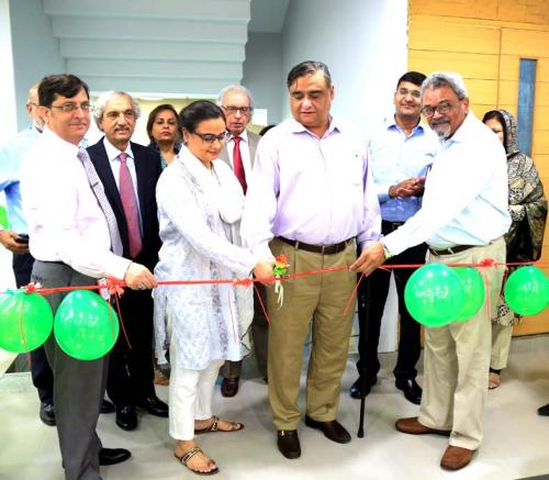 Ziauddin University's 6th Floor Inauguration
