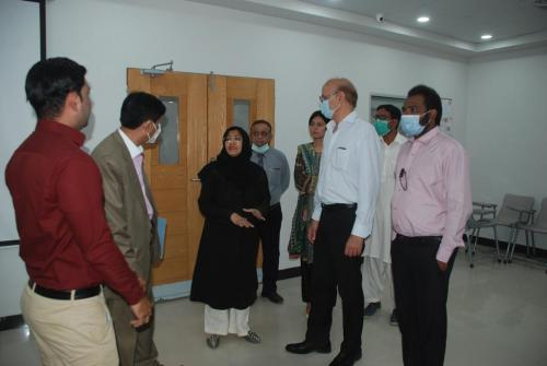 Visit of Sindh board of Technical Education at ZUFEMNS