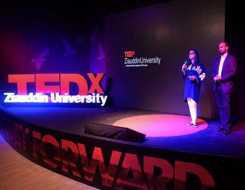 Dr Asim Inaugurate 'TEDxZiauddinUniversity' Conference