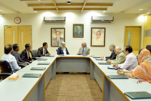 Federal Republic of Somalia to Pakistan visited Ziauddin University