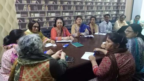 Curriculum Meeting of Post RN BScN