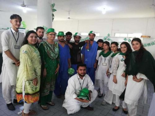 Independence Day Celebration at Karwan-e-Hayat