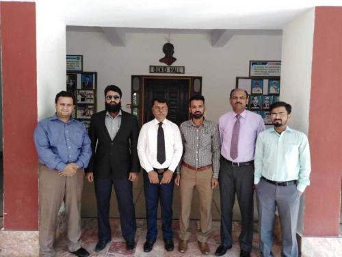 ZUFEST visit to Cadet College, Petaro